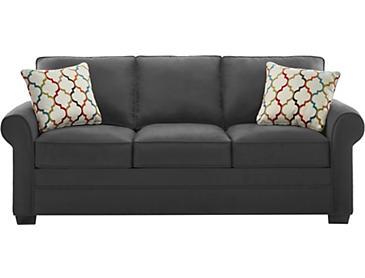 Murphy Queen Plus Sleeper Sofa Red Art Van Home