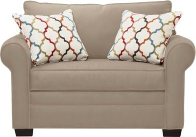 Murphy Loveseat Sleeper, Mineral, swatch