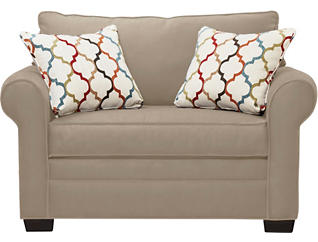 Murphy Loveseat Sleeper, Mineral, large