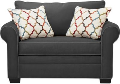 Murphy Loveseat Sleeper, Slate, swatch
