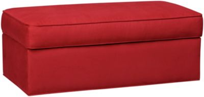 Murphy Storage Ottoman, Cardinal, swatch