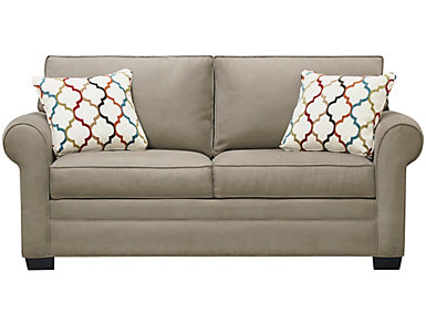 Murphy Full Sleeper, Mineral, Taupe, large
