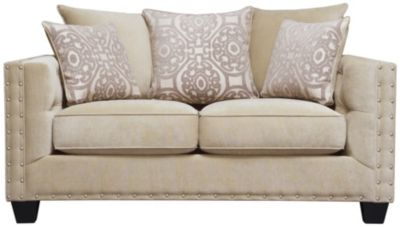Sidney Road Loveseat, Beige, swatch