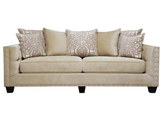 Sidney Road Sofa, Beige, large