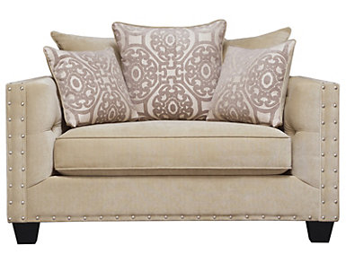 Sidney Road Chair and 1/2, Beige, Beige, large