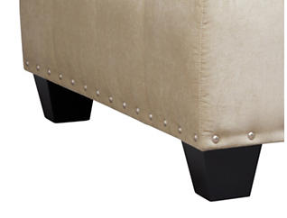 Sidney Road Cocktail Ottoman, Beige, Beige, large