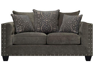 Sidney Road Loveseat, Grey, large