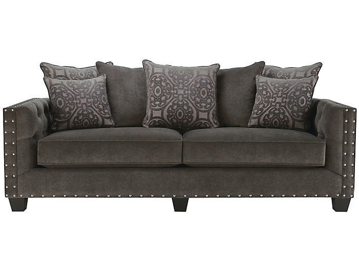 Sidney Road Sofa Grey Large