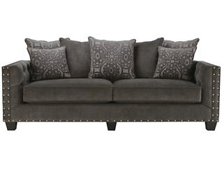 Sidney Road Sofa, Grey, large