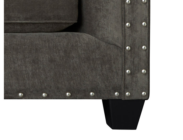 Sidney Road Chair and 1/2, Grey, Grey, large