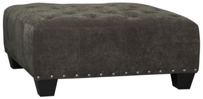 Sidney Road Cocktail Ottoman, Grey, swatch