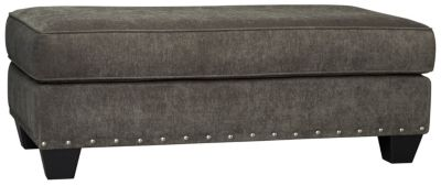 Sidney Road Ottoman, Grey, swatch