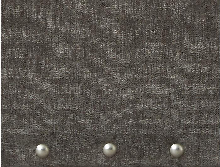 Sidney Road Ottoman, Grey, Grey, large