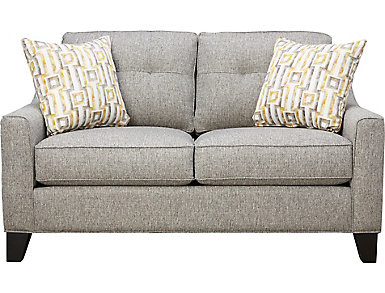 Madison Place Loveseat, Grey, , large