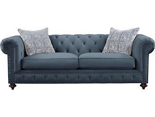 Knightsbridge Sofa, Blue, , large