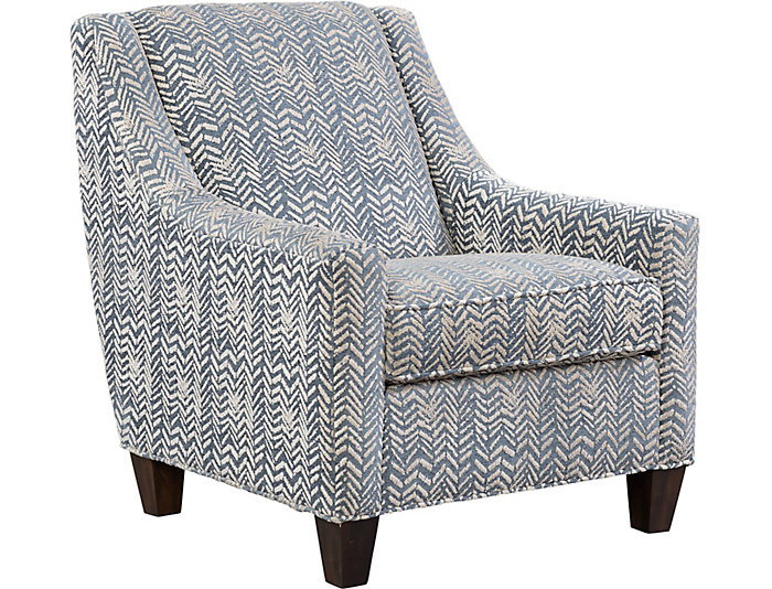 ... Knightsbridge Accent Chair, Blue, , Large ...