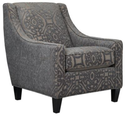 Sidney Road Accent Chair, Grey, swatch