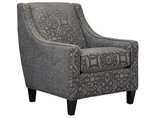 Sidney Road Accent Chair, Grey, large