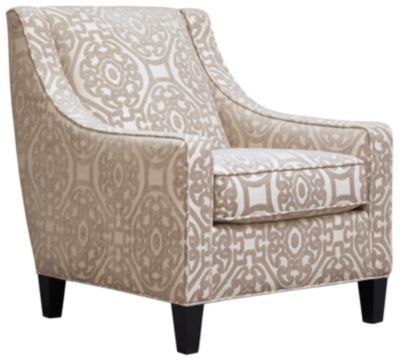 Sidney Road Accent Chair, Beige, swatch