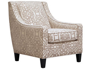 Sidney Road Accent Chair, Beige, large
