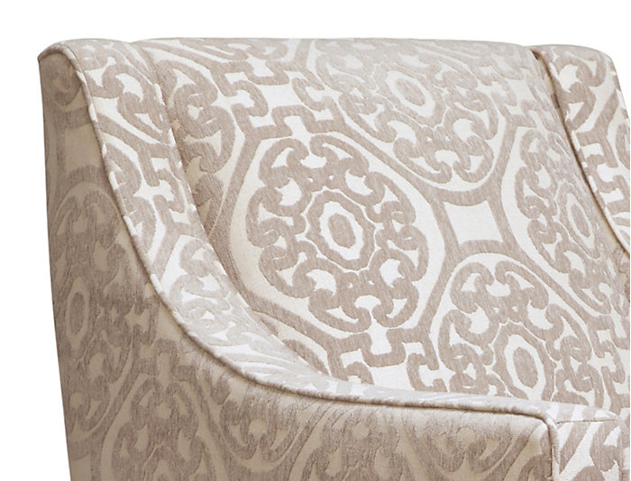 Sidney Road Accent Chair, Beige, Beige, large