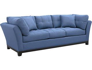 Illusions II Denim Sofa, Denim, large