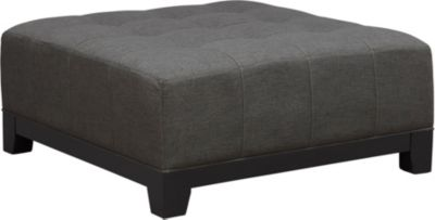 Illusions-II Cocktail Ottoman, Grey, swatch