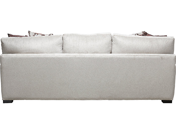 Astounding Bulova Linen Sofa Art Van Home Creativecarmelina Interior Chair Design Creativecarmelinacom