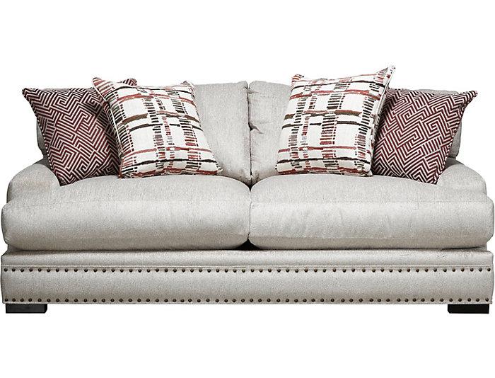 Bulova Linen Apartment Sofa