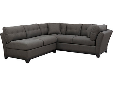 Illusions-II Slate 2Piece Sectional, , large