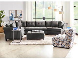 Illusions-III 3 PC Sectional, , large