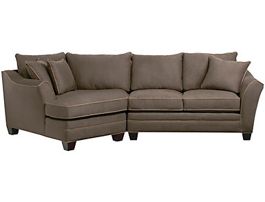 Dillon Mineral 2 Piece Left-Arm Facing Cuddler Sectional, , large
