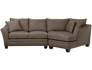 Dillon 2-Piece Right-Arm Facing Cuddler Sectional, Mineral, , large