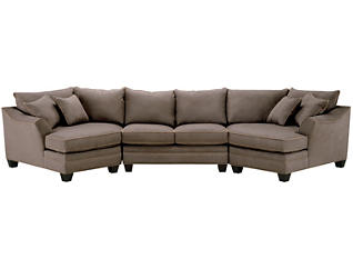 Dillon 2-Piece Dual-Cuddler Sectional, Mineral, , large