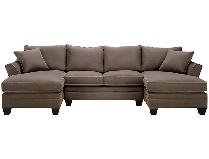 Dillon 3-piece Dual-Chaise Sectional, Mineral, , large