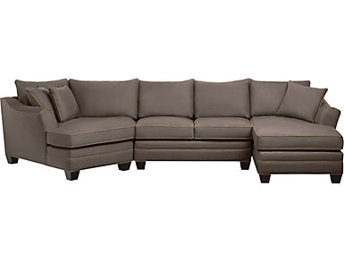 Dillon Mineral 3 Piece Left-Arm Facing Cuddler Sectional, , large