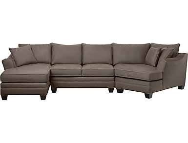 Dillon Mineral 3 Piece Right-Arm Facing Cuddler Sectional, , large