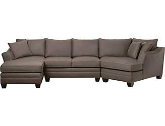 Dillon 3 Piece Sectional  sc 1 st  Sectionals u0026 Sofas | Art Van Furniture : dillon leather sectional - Sectionals, Sofas & Couches