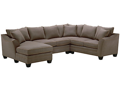 Dillon 4-Piece Left-Arm Facing Chaise Sectional, Mineral, , large