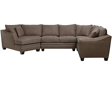 Dillon 4-Piece Left-Arm Facing Cuddler Sectional, Mineral, , large