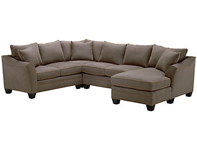Dillon 4-Piece Right-Arm Facing Chaise Sectional, Mineral, , large