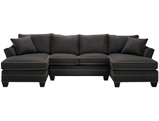 Dillon 3-piece Dual-Chaise Sectional, Slate, , large