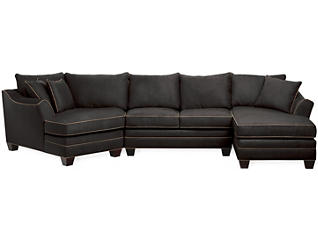 Dillon 3-Piece Left-Arm Facing Cuddler Sectional, Slate, , large