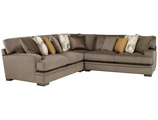 Fontaine 3 Piece Sectional, Granite, , large