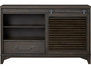 Harborside Mink 4 Drawer Sliding Door Dresser, , large