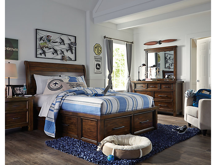 Sonoma 6 Drawer Dresser - Yth, , large