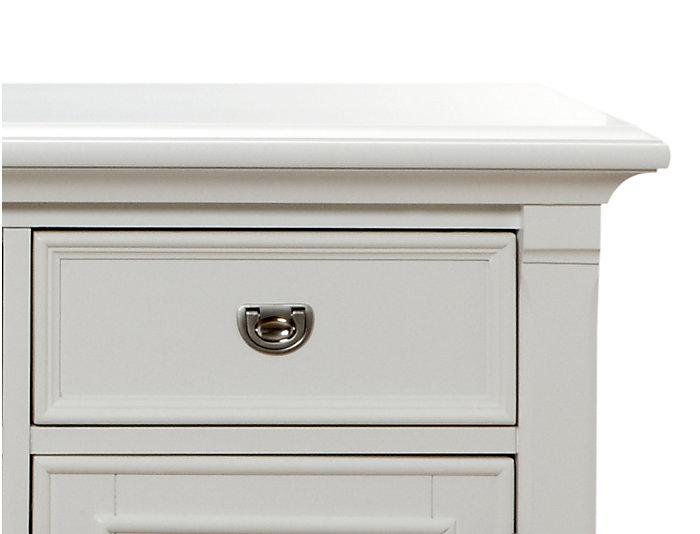 Breeze White 8 Drawer - 2Door Dresser, , large
