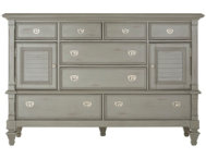 shop Breeze-Grey-8Dr-2Door-Dresser