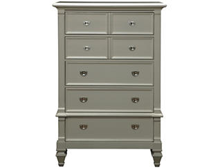 Breeze Grey 5 Drawer Chest, , large