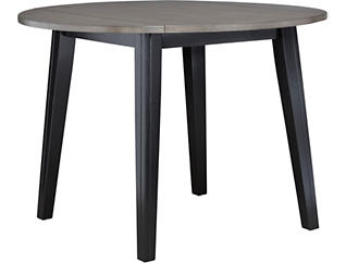 Choices Drop Leaf Table Grey, Grey, large